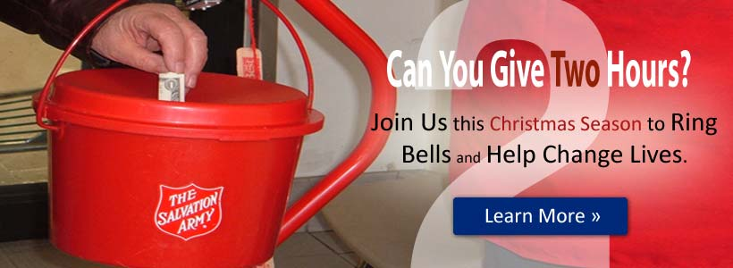 Ring Bells for The Salvation Army